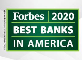 A Forbes Best Bank 2020