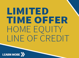 Limited Time Offer on Home Equity Lines of Credit
