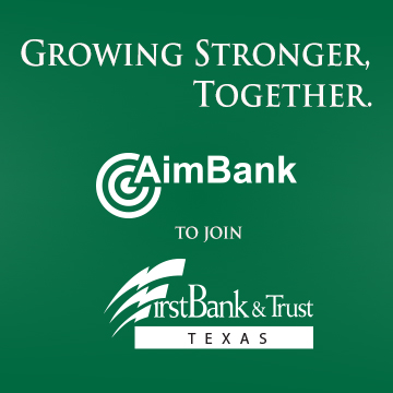 FirstBank & Trust is Merging with AimBank